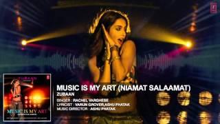 MUSIC IS MY ART NIAMAT SALAAMAT FULL AUDIO SONG   ZUBAAN   T Series   YouTube 1080p