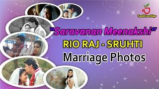 SUN MUSIC RIO RAJ - SRUTHI Marriage Photos !| Tamil Cinema News |-TamilCineChips