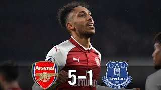 Arsenal vs Everton 5-1