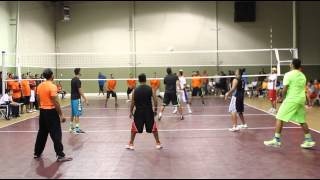 MEMPHIS VS NASHVILLE FINAL GAME 2 AT nashville desi volleyball 2014