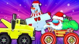 Monster Truck vs Tow truck Monster | Truck Popular Video for Kids Car Race