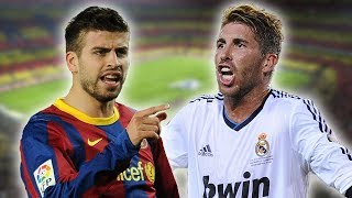 Gerard Pique V Sergio Ramos | The Story Of Why They Don