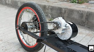 how to make Electric Scooter at home || DIY PROJECT Creative science