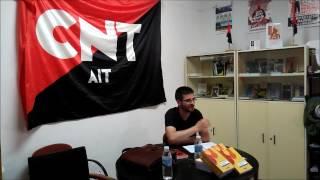 """PRESENTACIÓN de Julián Vadillo del libro """"Por el pan, la tierra y la libertad  El anarquismo en"""