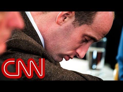 Xxx Mp4 Stephen Miller Caught Snoozing During Trump S Speech 3gp Sex