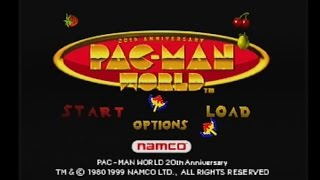 Let's Play Pac-Man World! (Part 1)