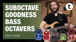 Top 5 | Bass Octave Pedals | Demo