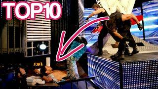 أفضل 10 حركات Power Bomb لفريق الدرع - WWE