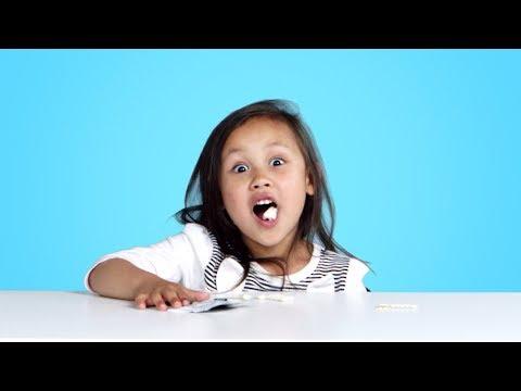 Kids Try Weird Gum Flavors Kids Try HiHo Kids