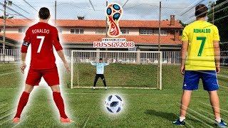 HAT-TRICK DO CRISTIANO RONALDO vs JUNINHO ( qual foi melhor?! )