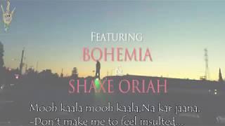 BOHEMIA English - Full Lyrics of in 'Muqabla' By