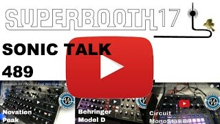 Sonic TALK 489 - Superbooth Aftershow