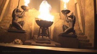 Revenge Of The Mummy Roller Coaster Nightvision On-ride Front (HD POV) Universal Orlando
