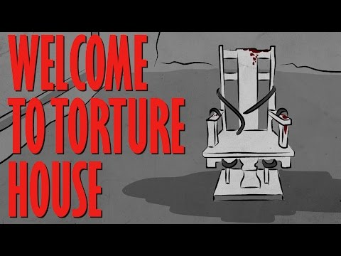 WELCOME TO THE TORTURE ROOM Haunted House Story Time Something Scary Snarled