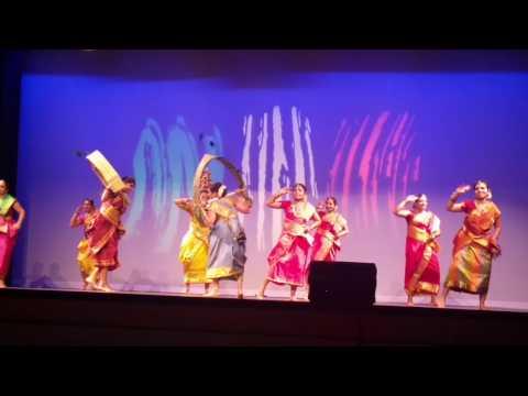 Folk Dance By Dayton Tamil Sangam Members at India Club