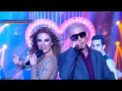 Jesica Cirio y Matías Carrica son Jennifer López y Pitbull Tu Cara me Suena 2015