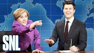 Weekend Update: Sen. Elizabeth Warren on Running for President - SNL
