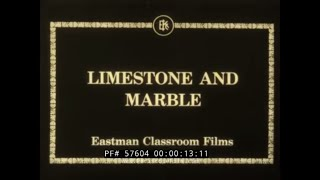 1920s EASTMAN EDUCATIONAL FILM   LIMESTONE & MARBLE QUARRYING & STONE CARVING  57604