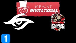 Secret vs Empire Game 1  Mr Cat Europe Invitational Highlights Dota 2