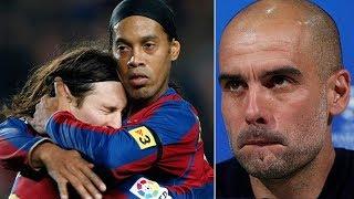 لماذا رحل رونالدينيو عن برشلونة؟ الساحر فجّر مفاجأة كبيرة..