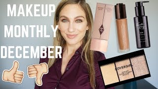 MAKEUP MONTHLY │ FAVES, FAILS & FINE PRODUCTS │ DECEMBER 2018
