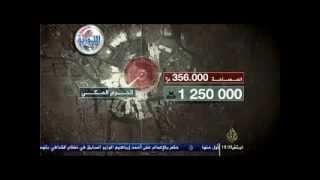 الإنفجار العظيم قناة الجزيرة تفضح حشود 30 من يونيو في مصر