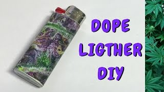 Stoner Crafts: How to Decorate Your Lighter with a High Times Magazine