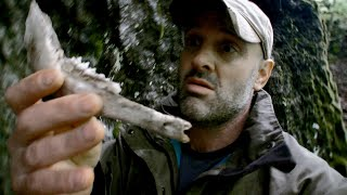 Look What Ed Stafford Found In A Bear Cave