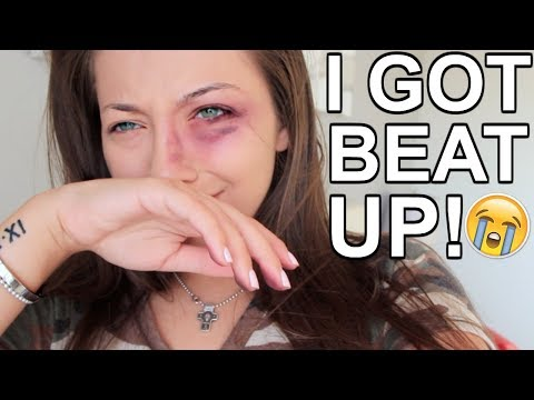 I GOT BEAT UP! PRANK ON BOYFRIEND!!!