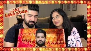 Jai Lava Kusa Trailer Official Trailer - NTR   Reaction   RajDeep  