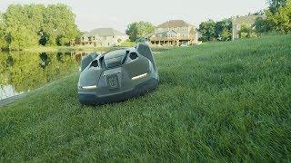 Husqvarna Automower: an iOS controlled, autonomous mower