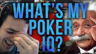 Finding Out My Poker IQ?