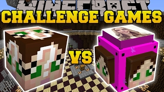 Minecraft: GAMINGWITHJEN VS GAMINGWITHJEN CHALLENGE GAMES - Lucky Block Mod - Modded Mini-Game