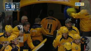 Gotta See It: Predators & Lightning brawl after Ellis blindsides Brown