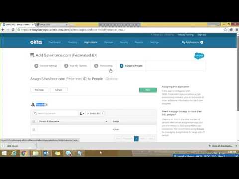 Okta   Salesforce Single Sign on