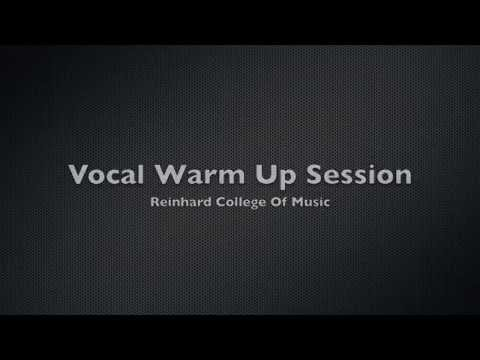 Singing Lessons - Vocal Warm Up Exercises (PART 1 of 3)