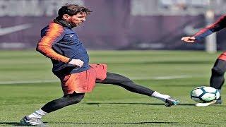 هدف ميسي الرائع  على أتلتيكو مدريد |ميسى ليس بشرا | الدوري الإسباني |  4-3-2018 | HD