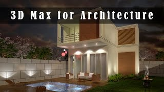 3d max tutorial for architecture-Part 1