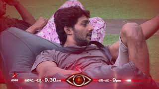 Task turning out to be torture for Prince   #BiggBossTelugu Today at 9:30 PM
