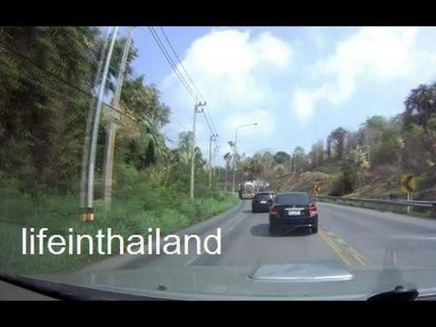 Dash Cam Video - Pattaya to Maha Sarakham, North East Thailand, 7.5 hours in 7.5 minutes.