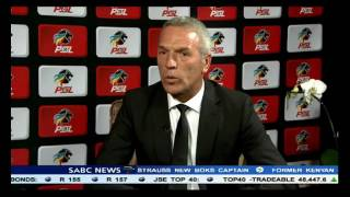 Catching up with Middendorp at the PSL awards