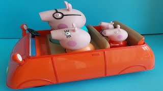 PEPPA PIG IN RODE AUTO ~ PEPPA PIG IN THE RED CAR