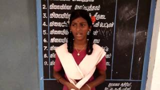 9th std govt school girl talking about the problems and needs of the school children in tamil nadu k