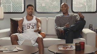 Kobe Bryant Trolled in Apple Commercial with Michael B. Jordan