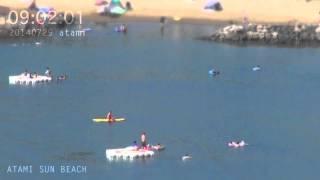 アタミラプス:みんな何時くらいからビーチに来るのだろう#5 2014年7月29日