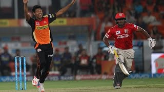 IPL 2016:Mustafizur Rahman‬ 4 over 1maiden 9 run 2 wickets vs kings xi punjab
