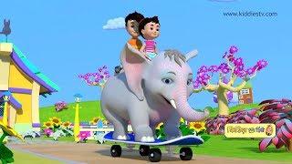 Hindi rhymes compilation | part 4 | hindi kids rhymes | hindi rhymes for children | Kiddiestv hindi
