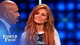 Maria Menounos and Jeannie Mai face off! | Celebrity Family Feud