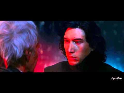Star Wars VII: The Force Awakens -Kylo Ren kills Han Solo - Full Scene (HD)
