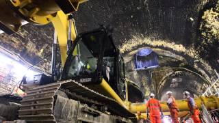 Behind the hoardings: Crossrail Connaught Tunnel